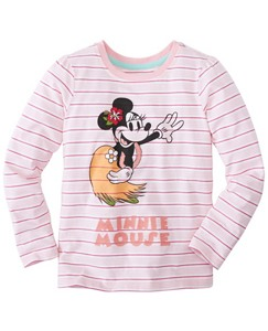 Girls Disney Minnie Mouse Art Tee In Supersoft Jersey by Hanna Andersson