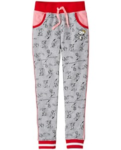 Peanuts Girls Slim Sweats In French Terry by Hanna Andersson