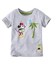 Toddler Disney Mickey Mouse Tee In Supersoft Jersey by Hanna Andersson