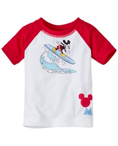 Baby Disney Mickey Mouse Swimmy Rash Guard by Hanna Andersson