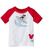 Disney Mickey Mouse Baby Swimmy Rash Guard by Hanna Andersson
