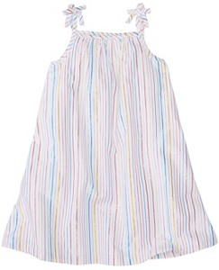 Girls Shimmer Stripe Sundress by Hanna Andersson