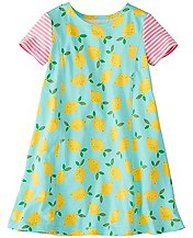 Girls Summer Swing Dress in Stretch Jersey by Hanna Andersson