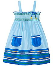 Girls Smocked Summer Sundress  by Hanna Andersson