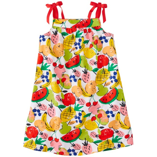 Girls Ribbon Sundress by Hanna Andersson