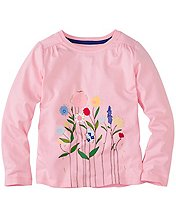 Girls Collection Appliqué Tee by Hanna Andersson