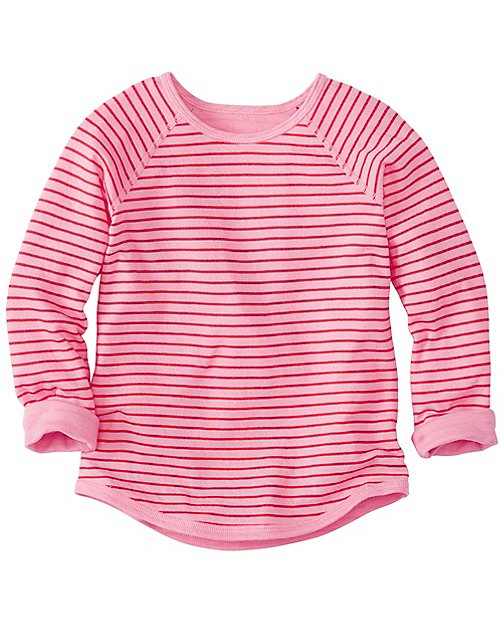 Girls Reversible Baseball Tee by Hanna Andersson