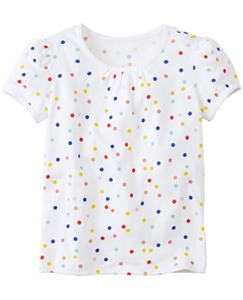 Girls Pima Tee by Hanna Andersson