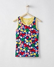 Girls Play+ Tank In Stretch Jersey by Hanna Andersson