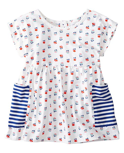 Girls Pocket Popover by Hanna Andersson