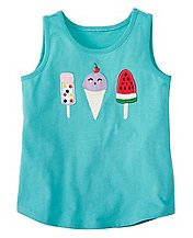 Girls Favorite Things Tank In Supersoft Jersey