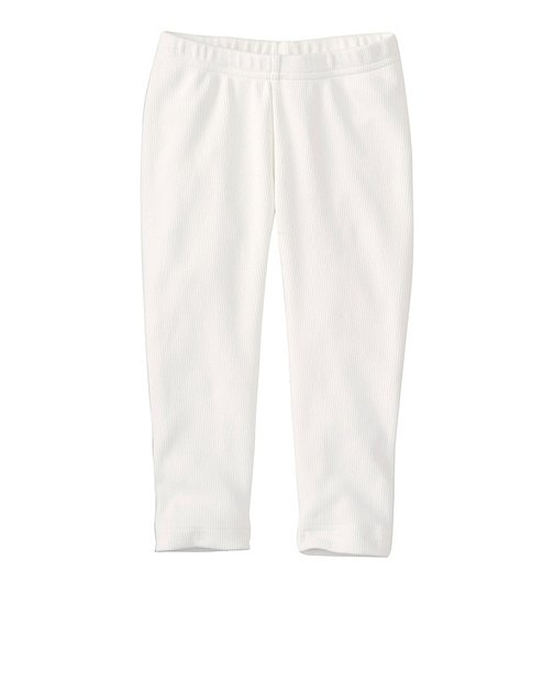 Girls Very Güd Stretch Ribbed Capris by Hanna Andersson