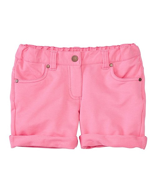Girls Relaxed Shorts In Stretch French Terry by Hanna Andersson