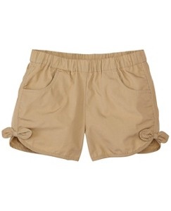 Girls Soft Poplin Pocket Shorts by Hanna Andersson