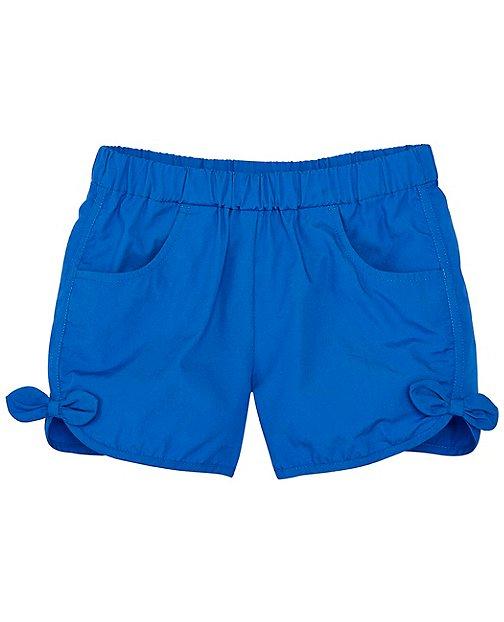 Girls Soft Poplin Pocket Shorts by Hanna Andersson