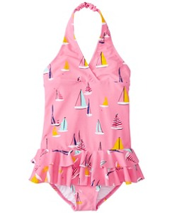Girls Halter One Piece by Hanna Andersson