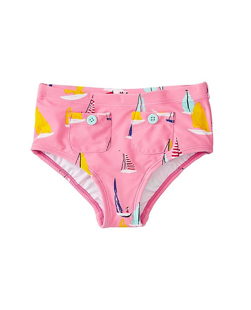 Girls Pocket Swim Shorts by Hanna Andersson