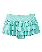 Girls Scallop Flounce Swim Skirt by Hanna Andersson