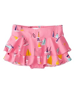 Girls Flounced Swim Skirt by Hanna Andersson