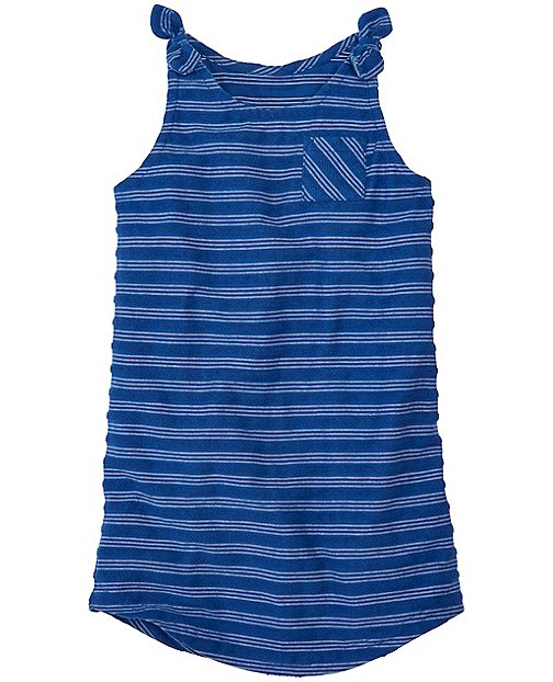 Girls Soft Stripes Cover-Up In French Terry by Hanna Andersson
