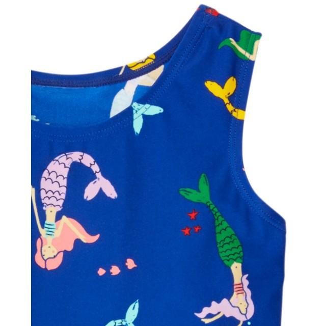 Girls Slipover Swim Dress by Hanna Andersson
