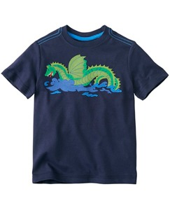 Boys Get Appy Appliqué Tee In Supersoft Jersey by Hanna Andersson