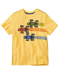 Boys Art Tee In Slub Jersey by Hanna Andersson