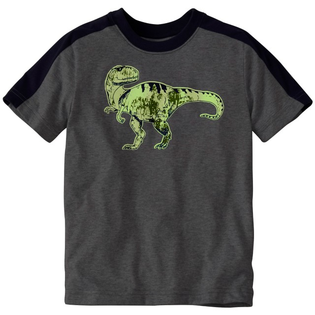 Boys Glow In The Dark Art Tee in Supersoft Jersey by Hanna Andersson