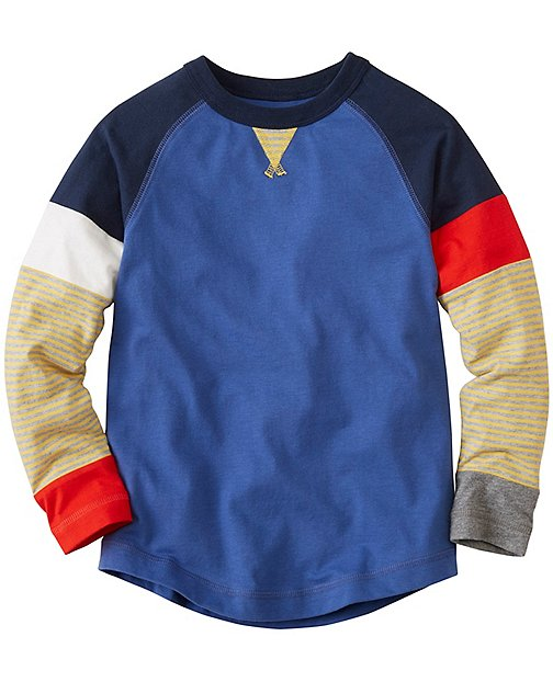 Boys Hypersleeve Tee In Supersoft Jersey by Hanna Andersson