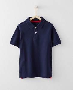 Bright Kids Basics Polo Shirt In Organic Cotton by Hanna Andersson