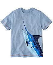 Boys Both Sides Art Tee In Supersoft Jersey by Hanna Andersson