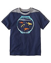 Boys Art Tee In Supersoft Jersey by Hanna Andersson