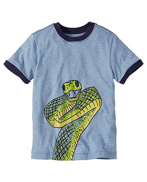 Boys Creature Tee In Supersoft Jersey by Hanna Andersson