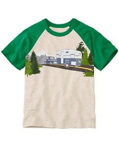 Boys Transport Tee In Slub Jersey by Hanna Andersson