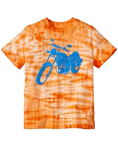 Boys Tie Dye Art Tee In Supersoft Jersey by Hanna Andersson