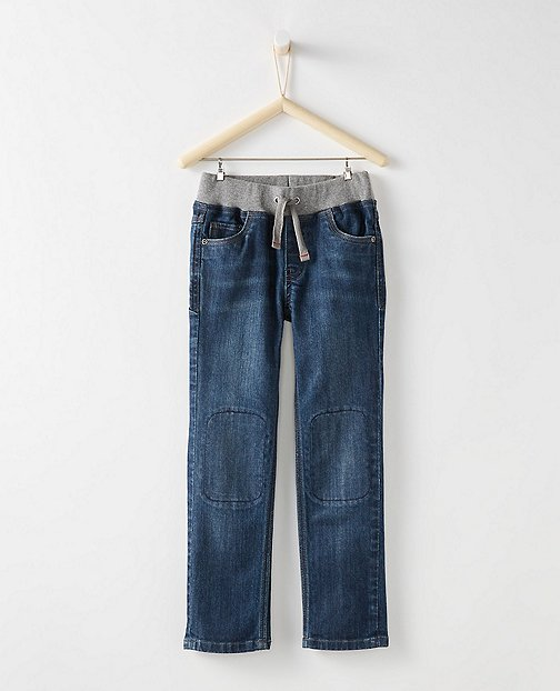 Boys Sport Waist Slim Jeans by Hanna Andersson