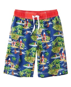 Boys Board Shorts With UPF 50+ by Hanna Andersson