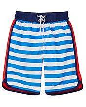 Boys Front VS Back Swim Trunks With UPF 50+ by Hanna Andersson