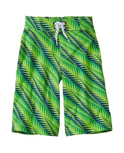 Boys Land + Water Board Shorts With UPF 50+ by Hanna Andersson