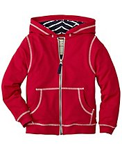 Boys Supercozy Jersey Lined Hoodie by Hanna Andersson