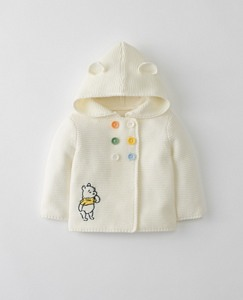 Disney Baby Winnie The Pooh Hoodie Sweater In Organic Cotton by Hanna Andersson