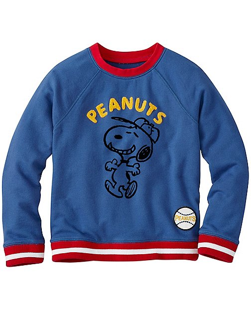 Peanuts Boys Sweatshirt by Hanna Andersson