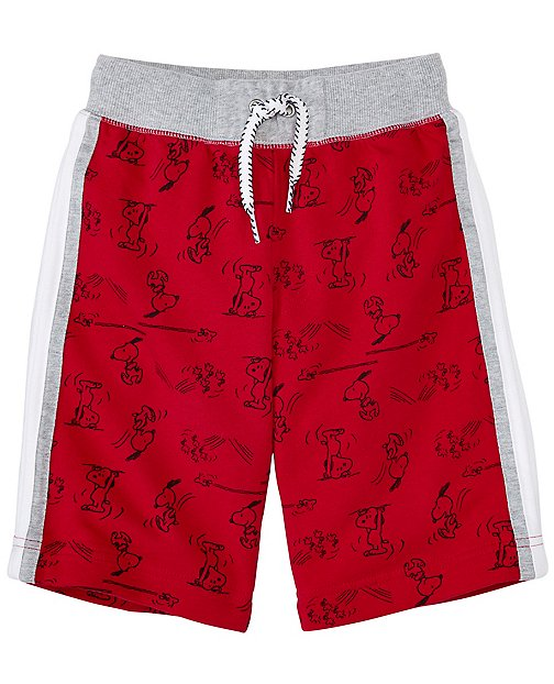 Peanuts Boys Shorts In French Terry by Hanna Andersson