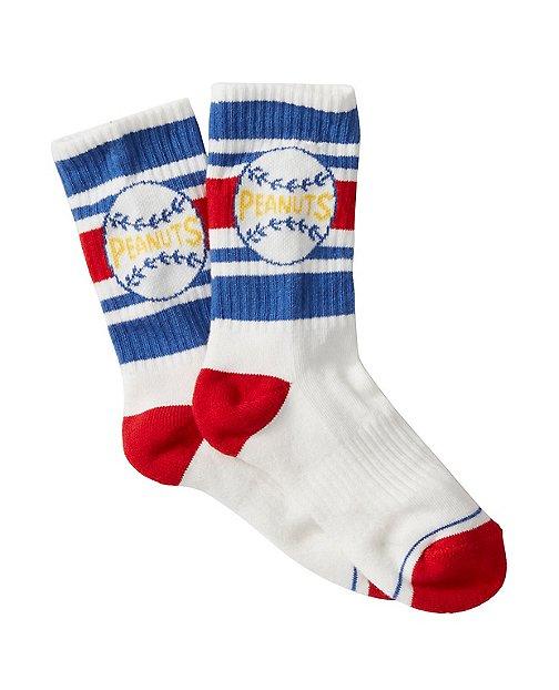 Peanuts Kids Sport Crew Socks by Hanna Andersson