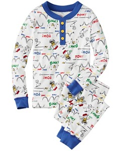 Peanuts Kids Long John Pajamas in Organic Cotton by Hanna Andersson