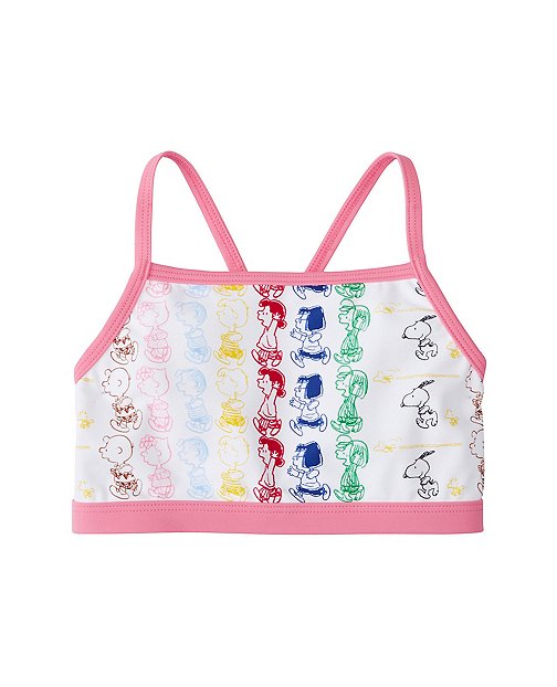 Peanuts Girls Swim Top by Hanna Andersson
