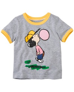 Peanuts Toddler Art Tee In Supersoft Jersey by Hanna Andersson