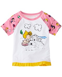 Peanuts Toddler Sun-Ready Rash Guard by Hanna Andersson