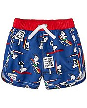 Peanuts Baby Sport Swim Trunks With UPF 50+ by Hanna Andersson