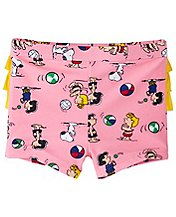 Peanuts Baby Ruffle Swim Bottoms by Hanna Andersson